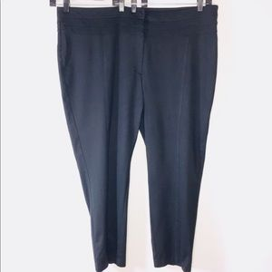 Lane Bryant Plus Size 26 Average Black Pant